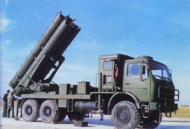 WS-1 WS1 Truck Multiple Rocket Launcher System Description