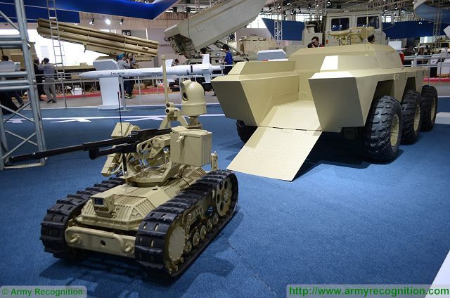 Sharp Claw 2 UGV 6x6 Unmanned Ground Vehicle technical data
