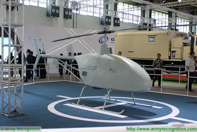 Sharp Eye Iii Unmanned Helicopter System Drone Uav