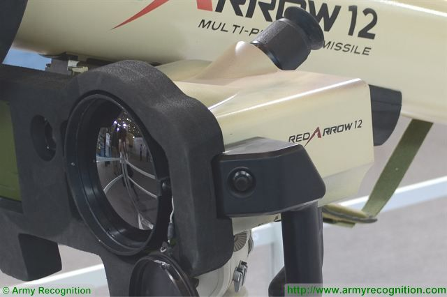 HJ-12 Red Arrow 12 anti-tank multirole fire-and-forget missile technical data sheet specifications pictures information description intelligence photos images video identification Norinco China Chinese army defense industry military technology equipment