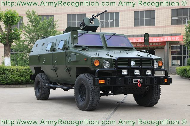 Tiger 4x4 armoured vehicle personnel carrier ShaanXi Baoji Special Vehicles data sheet specifications pictures information description intelligence photos images video identification tracked armoured vehicle China Chinese army defense industry military technology