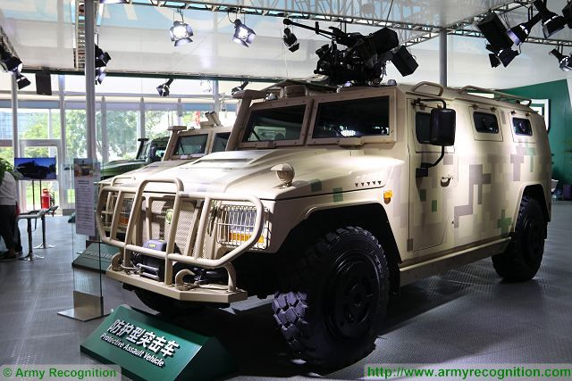 YJ2080C YJ2081C 4x4 protected protective assault vehicle Yanjing Auto China Chinese defense industry military equipment 640 001