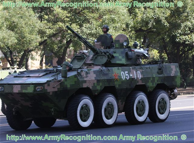 Man 8x8 Test. ZBD-09 8x8 wheeled armoured