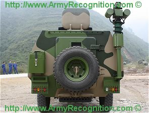 ZFB anti-riot wheeled protected vehicle technical data sheet information description intelligence pictures photos images China Chinese army identification Shaanxi Baoji Special Vehicles Manufacturing