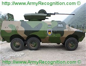 ZFB08 6x6 light wheeled armoured combat vehicle technical data sheet information description intelligence pictures photos images China Chinese army identification Shaanxi Baoji Special
