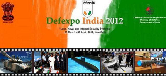 DefExpo 2012 pictures picture photos images video gallery Defense Military Exhibition Land Sea Air India New Dehli International salon international défense militaire air terre mer Inde New Dehli