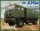 India's third largest heavy commercial vehicle manufacturer Asia MotorWorks (AMW) unveiled its new range of military vehicles called 'AMW Defence' at the 6th International Land and Naval Systems Exhibition or Defence Expo 2012 being held at Pragati Maidan, New Delhi between March 29-April 1.