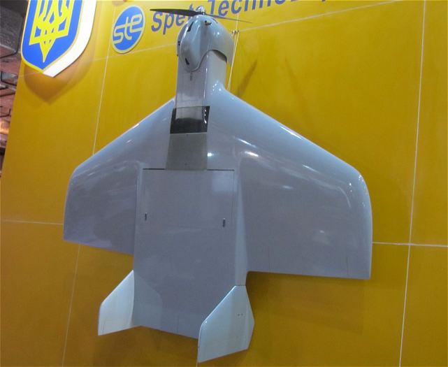 Multipurpose Unmanned Aircraft System (UAS) R-100 has been presented on the stand of the Ukroboronprom State Concern at the defense exhibition Defexpo 2014 in New Delhi, India. The system is developed by Ukrainian specialists for the Armed Forces of Ukraine. SFTE Spectechnoexport, being a member of Ukroboronprom, is in charge of promotion of UAS on the foreign market.