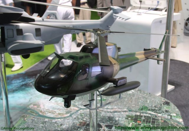 Airbus Helicopters highlights Make in India H125M Fennec helicopter at Defexpo 2016 640 001