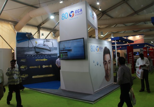Defexpo 2016 ECA Group promotes unmanned solutions under Make in India initiative 640 002