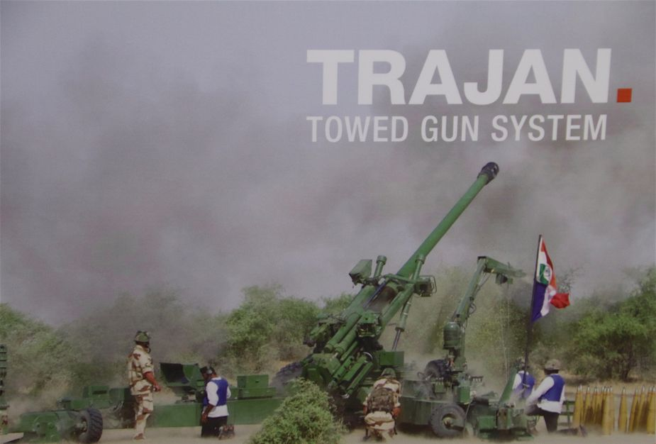 Larsen and Toubro with Nexter showcase artillery systems at DefExpo 2018 925 001