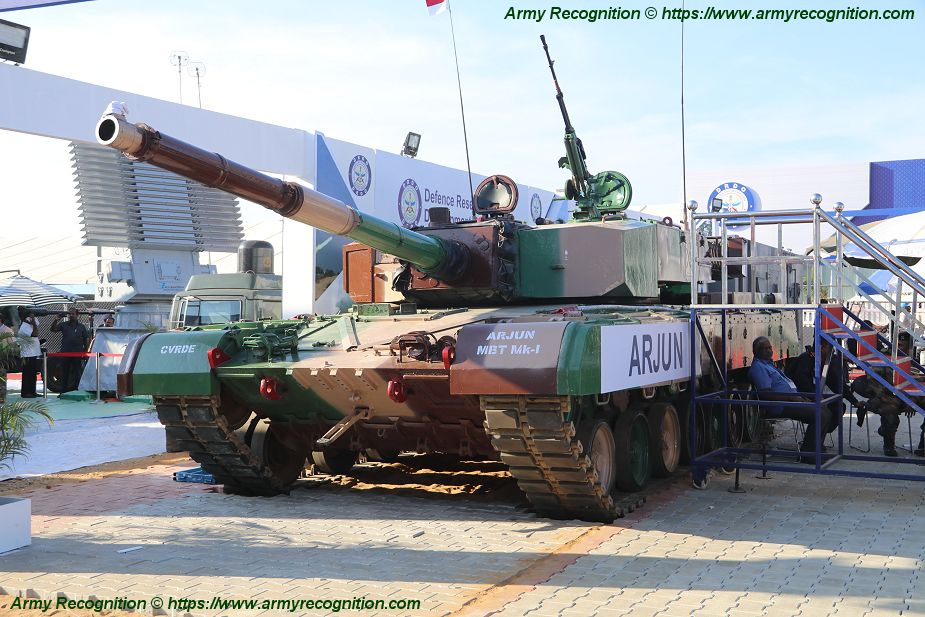 Two regiments of Indian army are equipped with Arjun Mark 1 main battle tanks 925 001
