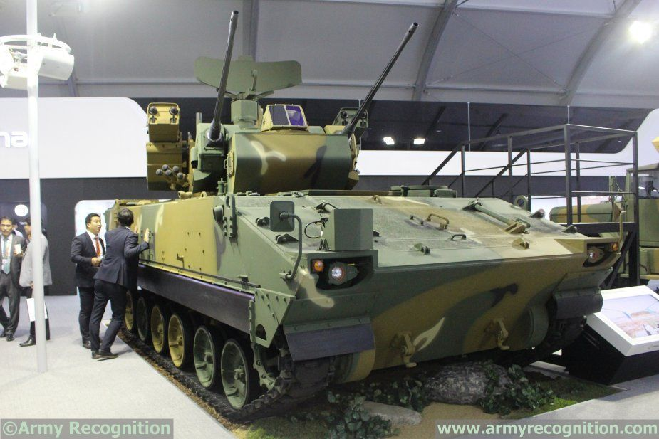 South Korea to promote Hybrid BiHo air defense armored vehicle DefExpo 2020 India 925 001