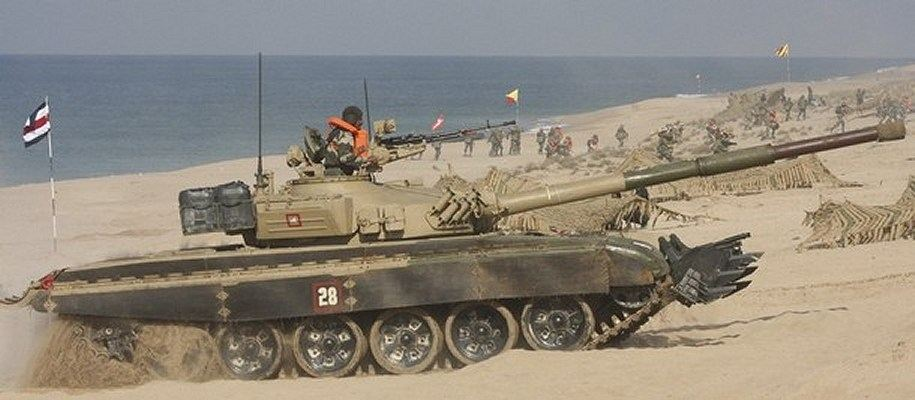 2009 india indian army military exercise t 72 main battle tank 002