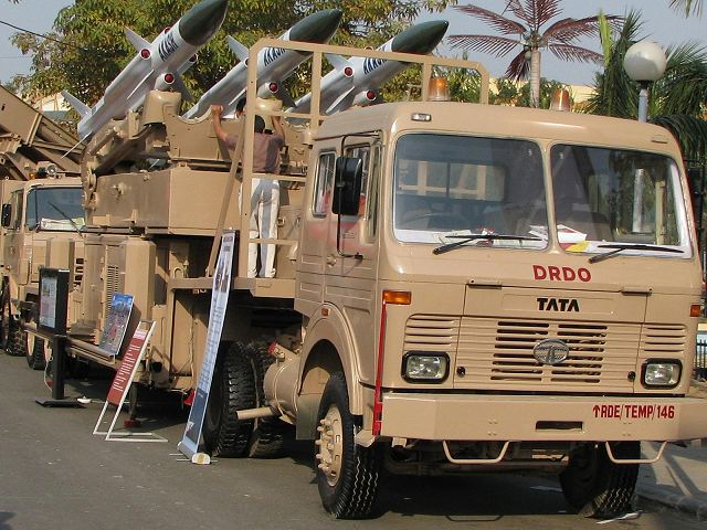 Akash surface-to-air defense missile system India Indian army military equipment defense industry 640 001