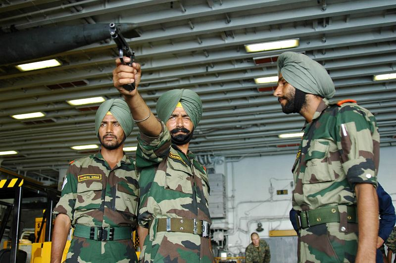 Indian army training image