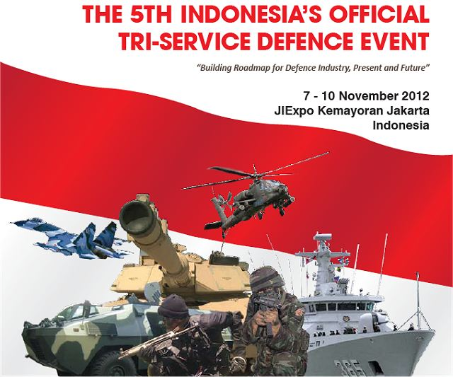 Indo Defence 2012 pictures video photos images gallery tri-service defence event exhibition Jakarta Indonesia 7 to 10 November 2012