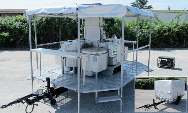 Sert Presents Its New Crp 1000 Military Field Kitchen At