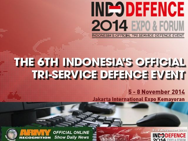 Army Recognition is proud to announce that it has been appointed by IndoDefence to produce the Official Online Show Daily News IndoDefence 2014 which will be held from the 5 – 8 November 2014 in Jakarta, Indonesia. The organizers of IndoDefence 2014 understood the interest to use the notoriety and the popularity of Army Recognition online Defence & Security magazine to spread all activities of the event and to provide the exhibitors with a global online window in parallel with IndoDefence 2014 exhibition about the latest defence and security technologies and innovations.