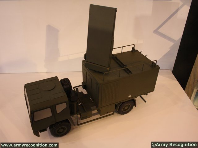 "At IndoDefence 2014, SAAB is displaying its Artillery Hunting Radar ""ARTHUR"" mobile passive electronically scanned array C-Band radar system. ARTHUR is a highly mobile weapon locating system, tactically deployed close to the forward line of own troops."