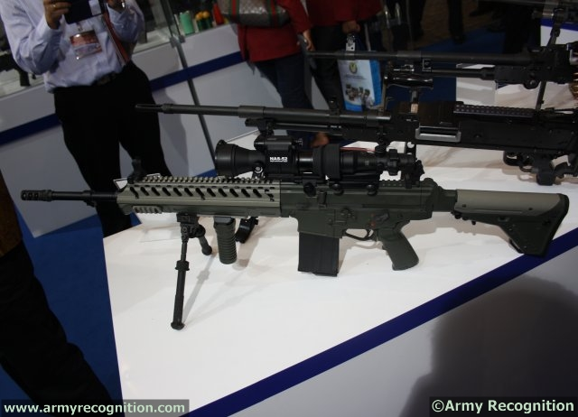 At IndoDefence 2014 in Jakarta, India-based company Pindad is increasing its assault rifles range by officially showing for the first time a new SS variant, the SSx 7.62mm. This rifle is part of PT Pindad focus and long effort to develop its own weapon with a bigger caliber to fulfil new challenges as required by its users.