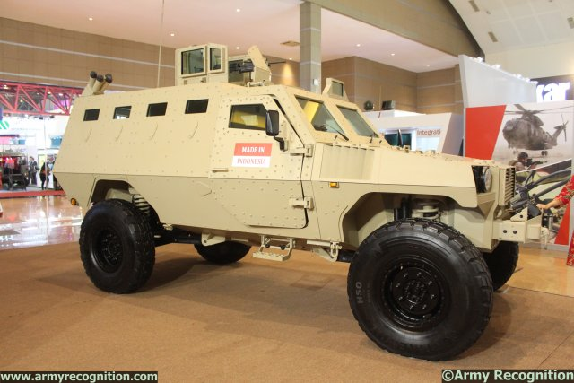 Indonesia-based society Sentra Surya Ekajaya (SSE) chose the 6th IndoDefence Expo & Forum exhibition, which is held from 5-8 November in Jakarta, to introduce a modernized version of its PAKCI P2 Armoured Personnel Carrier.