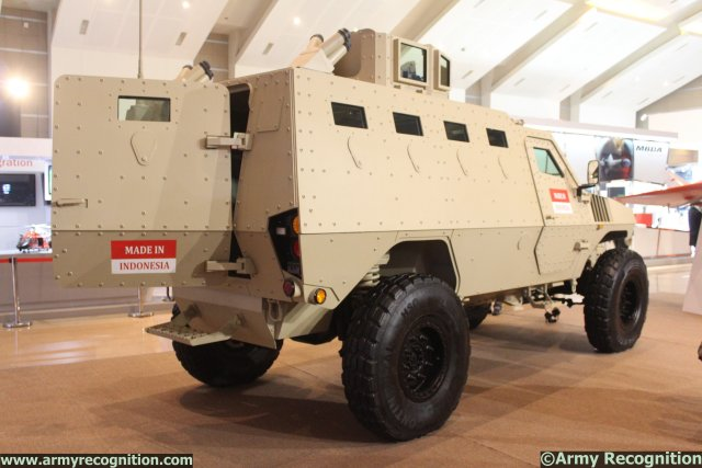 Indonesia-based society Sentra Surya Ekajaya (SSE) chose the 6th InfoDefence Expo & Forum exhibition, which is held from 5-8 November in Jakarta, to introduce a modernized version of its PAKCI P2 Armoured Personnel Carrier.