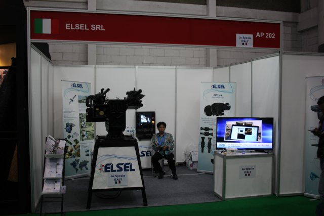 ELSELs LIVET advanced remote controlled turret highlighted at Indodefence 2016 001