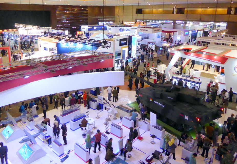 IndoDefence 2018 8th edition taking place in Jakarta