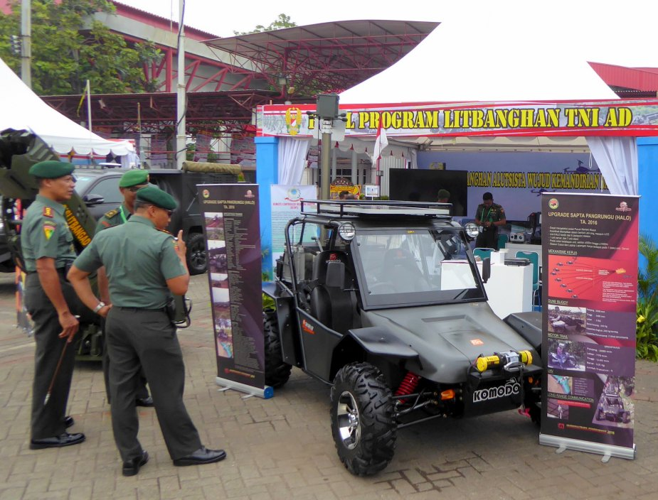 IndoDefence 2018 Indonesian artillery unveils experimental buggy for hostile fire detection