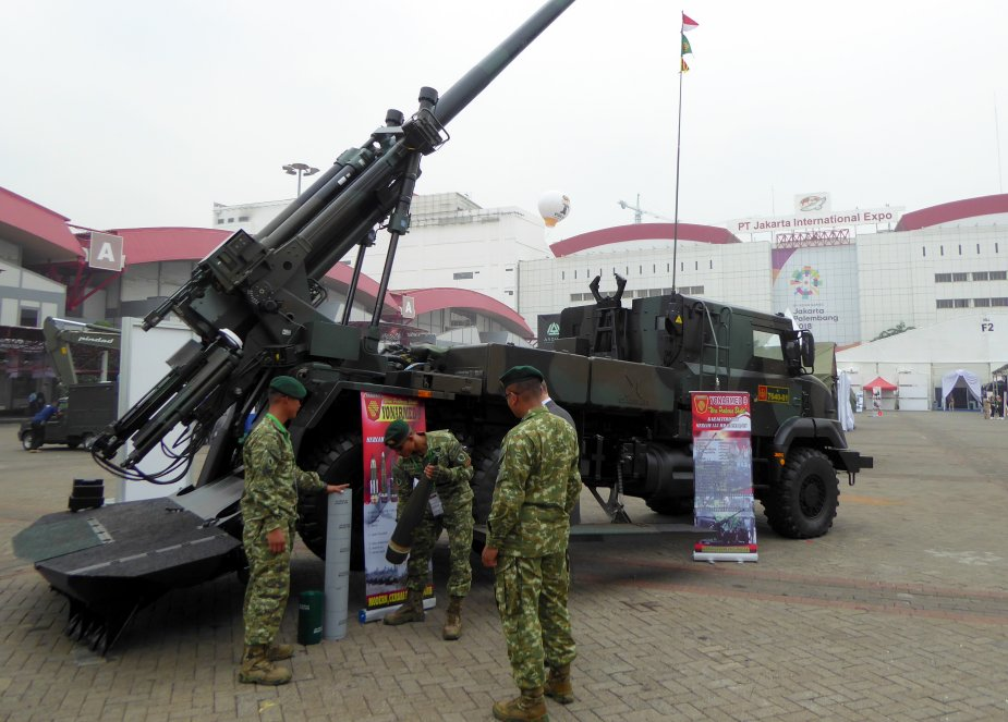 IndoDefence 2018 Nexter on Indonesian soil