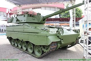 Marder Medium Tank RI Republic Indonesia technical data sheet specifications pictures video description information intelligence identification photos images Rheinmetall Indonesia Indonesian army defense industry military equipment technology