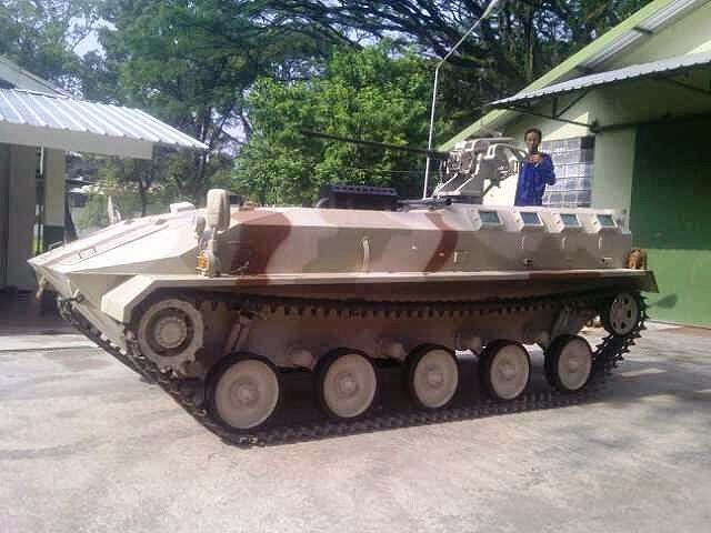 The Indonesian Defense Company Pindad is ready to launch its first tracked light armoured vehicle personnel carrier. The vehicle enters now in the phase to produce a prototype.