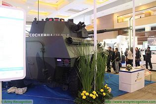 Badak FSV 90mm fire support 6x6 armored vehicle data sheet specifications information intelligence photos pictures video PT Pindad Indonesia Indonesia army defense industry military equipment