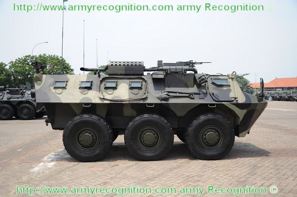 Pindad APC wheeled armoured vehicle personnel carrier  Indonesia Indonesian army