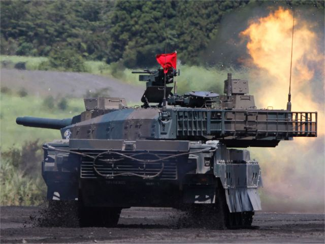 Type 10 MBT Main Battle Tank technical data Japan pictures
