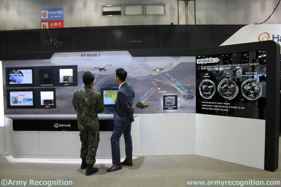 DX Korea 2018 Hanwha Systems IFF Mode 5 for ROK Military