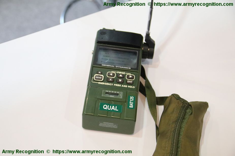 HOOK3 Combat Survival Radio from General Dynamics Mission Systems DX Korea 2018 925 001