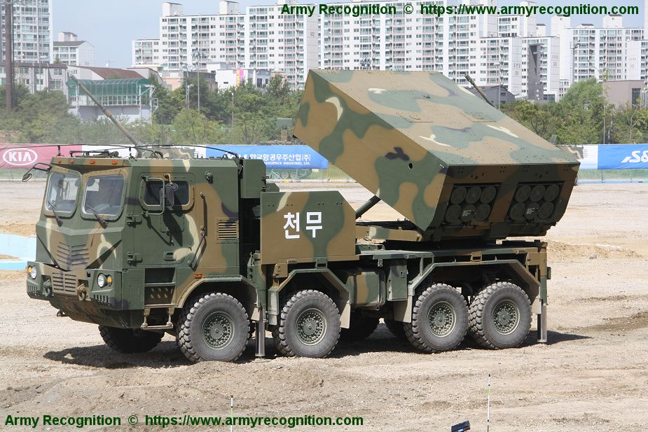 Hanwha Defense Systems to launch development of Chunmoo 2 MLRS 925 001