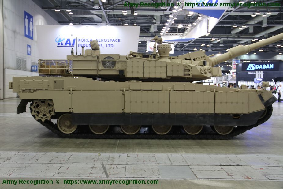 One Middle East country has showed interest to purchase K2 main battle tank from South Korea 925 002