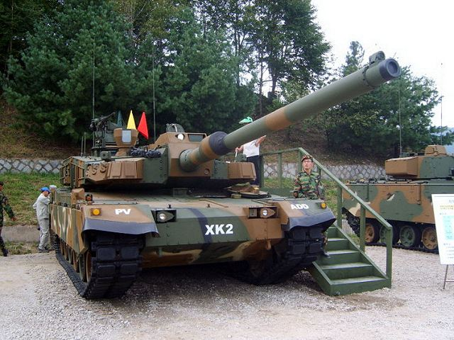 K2 Black Panther Main Battle Tank MBT data pictures video | South