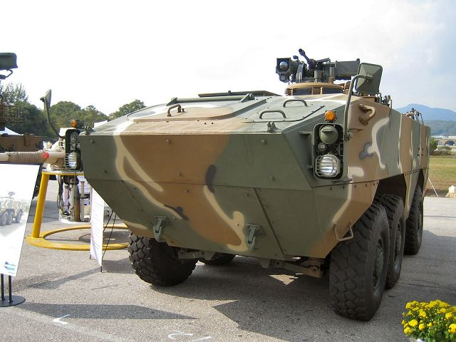 Armoured vehicle tons
