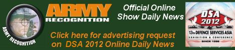 Your advertising on Army Recognition official online daily news DSA 2012