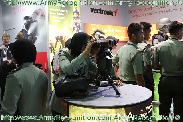 Vectronix AG, the Swiss-based global leader in portable optronics solutions, introduces its newest clip-on night sight at the DSA 2012 exhibition in Kuala Lumpur, Malaysia. The NiteSpotMR is a medium range clip-on night sight that adds night vision capability (I²) to a wide variety of rifles. NiteSpotMR easily attaches to the front of a day-sight objective and can be rapidly removed when not in use.