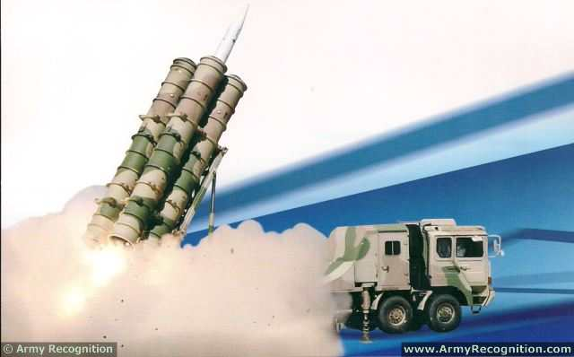 FK-3 Surface-to-Air Missile Weapon System is an all-weather medium-long range air defense weapon system, designed to intercept various types of air threats, including fixed-wing aircrafts, cruise missiles, tactical air-to-surface missiles, armed helicopters, etc.