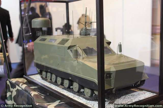 At DSA 2014, the Defense Services Asia Exhibition in Kuala Lumpur, Malaysia, the Belarus Company Minotor-Service unveils a new family of tracked armoured vehicle, named Mosquito. This new range of vehicle is based on the 3T Mosquito which is now in service with the Belarus army.