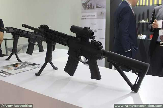 For the first time, TARA Perfection D.O.O. of Montenegro exhibits at DSA, the defense exhibition currently held in Kuala Lumpur (Malaysia) its full range of small weapons for modern Law Enforcement and Military customers around the world with the TARA TM-9 pistol and the TARA TM-4 assault rifle.