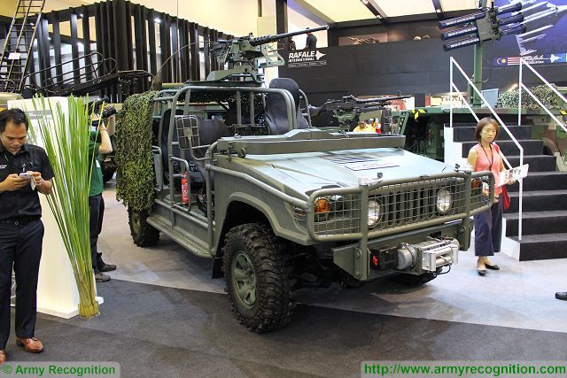 Weststar Defence Industries, The Weststar Group's defence and security arm exhibits its expertise in building purpose-built tactical military vehicles during its participation in Defence Services Asia 2016 trade exhibition. One of the new vehicle displayed by Weststar at DSA 2016 is the Defence Special Operations Vehicle (SOV).