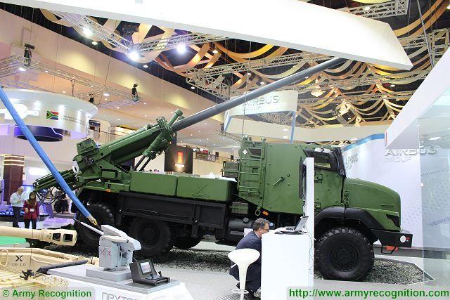 Nexter of France and ADS of Malaysia ready to offer the 6x6 CAESAR 155mm howitzer to Malaysian army 640 001