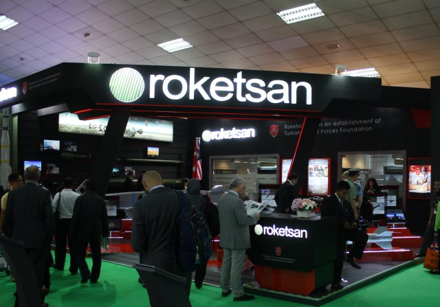 Roketsan exhibits the Teber system at DSA 2016 640 001
